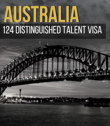 Australia 124 Distinguished Talent Visa  style=
