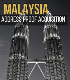 Malaysian Address Proof, asset management