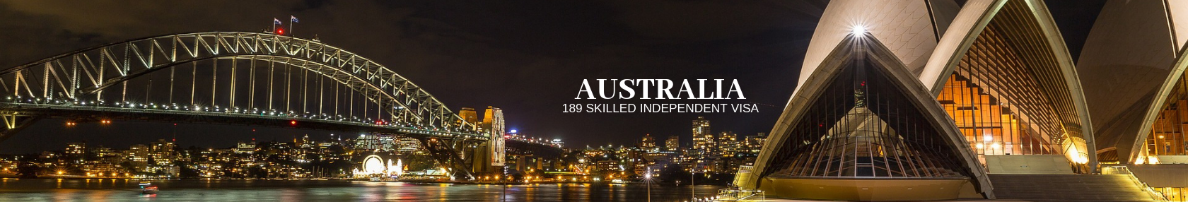 Australia, 189 Skilled Independent Visa