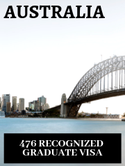 Australia Recognized Graduate visa (subclass 476)