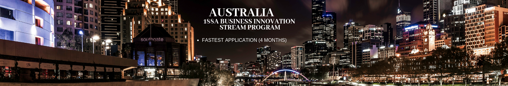 Australia, 188A Business Innovation Stream