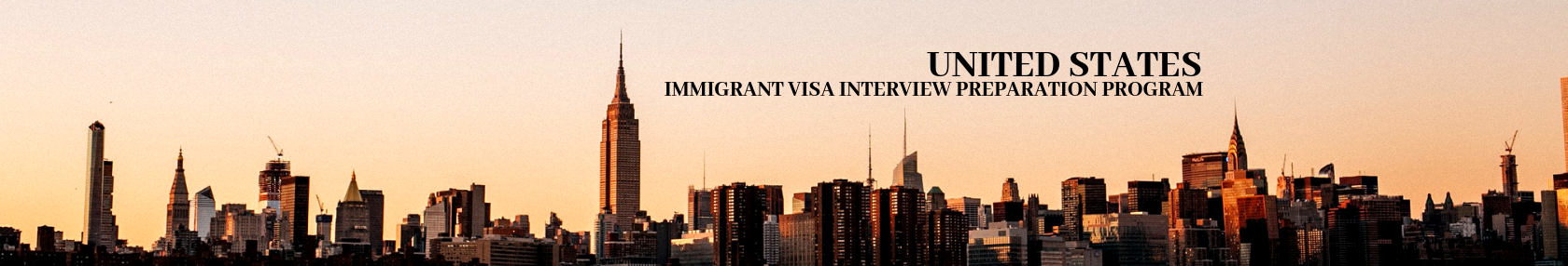 United States, Immigrant Visa Interview Preparation