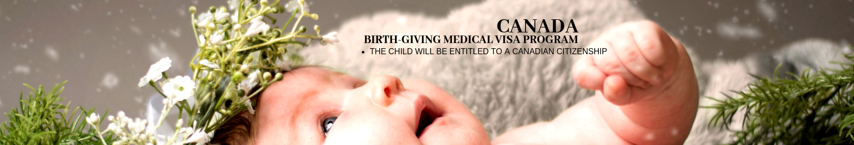 Canada, Birth-Giving Medical Visa