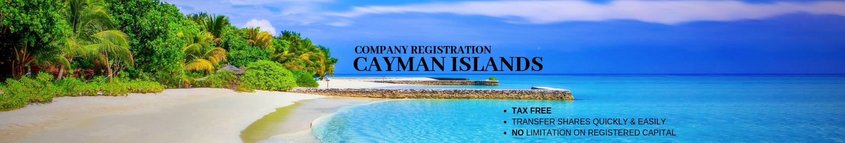 Cayman Islands, Offshore Company Registration